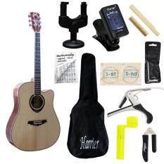 ราคา Romeo Guitarกีตาร์โปร่ง รุ่น Rg88 พร้อมที่ตั้งสาย คอแขวน สายกีต้าร์ กระเป๋ากีต้าร์ คู่มือตารางคอร์ด คาโป้ บ่าบน บ่าล่าง ที่ขันสาย ที่ตัดสาย หกเหลี่ยม กรุงเทพมหานคร