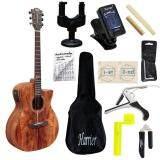 ซื้อ Romeo Guitar กีต้าร์โปร่งไฟฟ้า ไม้ Solid รุ่น Autumn 1 พร้อมที่ตั้งสาย คอแขวน สายกีต้าร์ กระเป๋ากีต้าร์ คู่มือตารางคอร์ด คาโป้ บ่าบน บ่าล่าง ที่ขันสาย ที่ตัดสาย หกเหลี่ยม กรุงเทพมหานคร