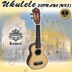 ราคา Romeo Ukulele อูคูเลเล่ Soprano 21 นิ้ว คลาสสิค รุ่น Uk8 เป็นต้นฉบับ