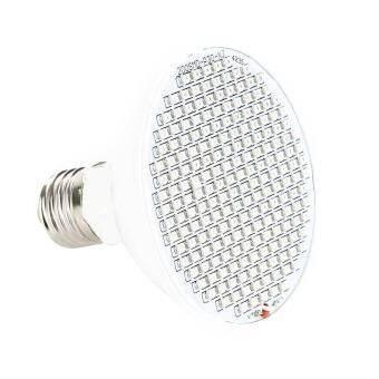 รอบ 200 LEDs Grow หลอดไฟ E27 พืชเติบโตแสงดอกบานแสง-นานาชาติ-