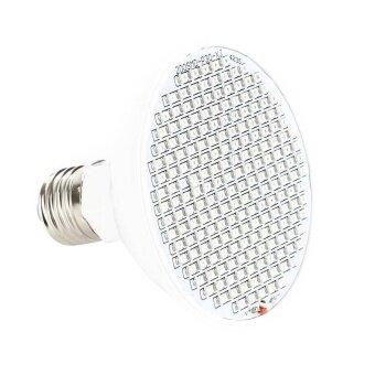 รอบ 200 LEDs Grow หลอดไฟ E27 พืชเติบโตแสงดอกบานแสง-นานาชาติ