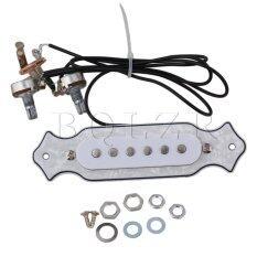 ขาย Single Coil Magnetic Acoustic Guitar Pickup White Unbranded Generic เป็นต้นฉบับ