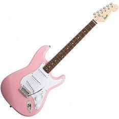 ราคา Squier กีตาร์ไฟฟ้า รุ่น Bullet Stratocaster Rw Pink ถูก