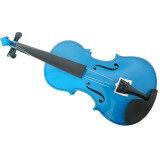 ซื้อ Student Acoustic Violin 1 Of 4 Blue