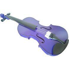 ขาย Student Acoustic Violin 4 4 Purple Unbranded Generic ผู้ค้าส่ง