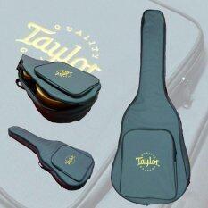 ราคา กระเป๋ากีต้าร์ Taylor สีเทา กระเป๋าบุอย่างหนา โลโก้ Taylor ปักอย่างดี เป็นต้นฉบับ Taylor
