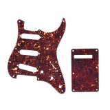 โปรโมชั่น Tortoise Red Guitar Pick Guard Back Plate With 20Pcs Screws For Fender Stratocaster Strat Style Electric Guitar Intl Unbranded Generic