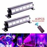 ซื้อ U King 2Pcs Black Light 18W Uv 6Led Stage Light Bar Party Disco Club Show Lighting Remote For Parties Halloween Club Metal Housing Stage Effect Lighting Intl ใน จีน