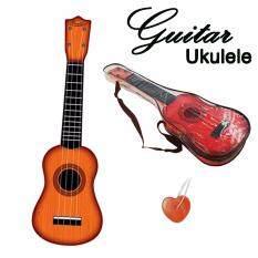 ukulele อูคูเลเล่ พลาสติก ขนาด 21นิ้ว อุปกรณ์ครบชุด  แถม กระเป๋า พลาสติก .