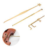 ซื้อ Violin Luthier Tools Kit Set Sound Post Gauge Measurer Retriever Clip Setter Brass Outdoorfree Intl ใน ชิลี
