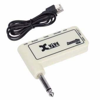 XVIVE Amplug GA-1 Acoustic แอมป์ปลั๊ก + สายชาร์จไฟ เสียบออกหูฟัง Mixer หรือแอมป์ได้-