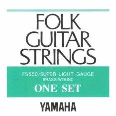 ขาย สายกีตาร์โปร่ง Yamaha Fs 550 เบอร์ 10 46 ถูก