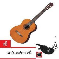 ซื้อ Yamaha กีตาร์คลาสสิค ขนาด 4 4 รุ่น C 40 ฟรีกระเป๋า สายกีตาร์ ขาตั้ง Thailand
