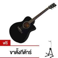 ราคา Yamaha กีตาร์โปร่ง ชายเว้า รุ่น Fs 100C สีดำ ฟรีขาตั้งกีตาร์ 2 In 1 Thailand