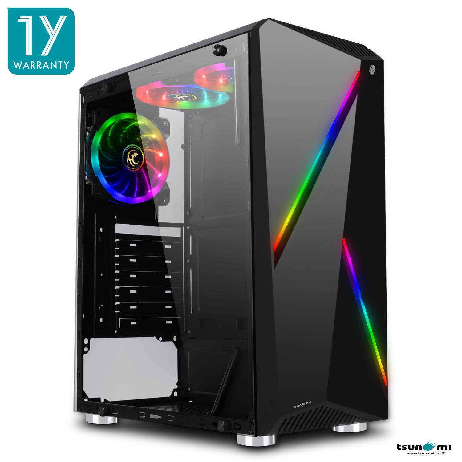 Tsunami Galaxy G8 Tempered Glass Atx Gaming Case By Fun Republic Co.,ltd..