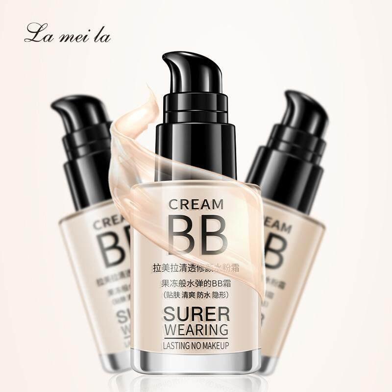 Bb Cream ขวดแก้ว ของแท้!! Mei La Cream Bb Super Wearing Lasting No Makeup 30ml เบอร์ 02.