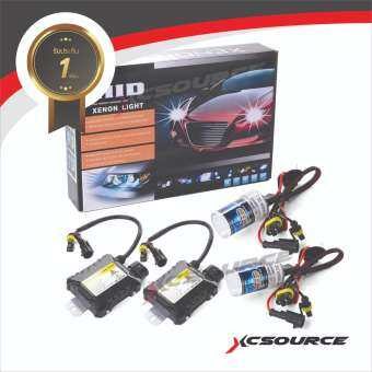 XCSource ชุดไฟซีนอนรถยนต์ 55W H7 6000K-
