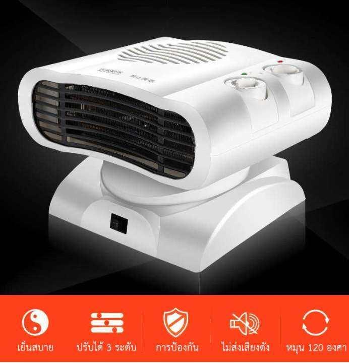 Electric heater เครื่องทำความร้อนไฟฟ้า เครื่องทำความร้อน ฮีตเตอร์ พัดลม โยคะ รุ่น Small สีขาว Shop PJ