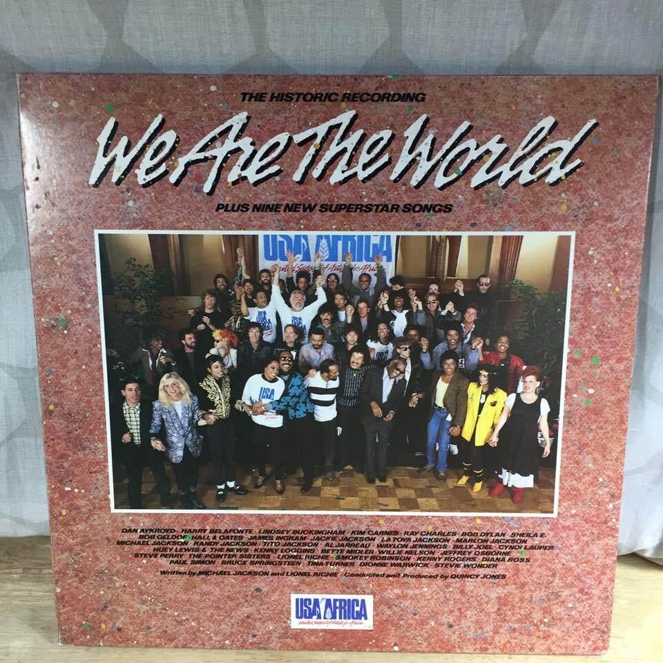 แผ่นเสียง We Are The World Hongkong ปก Nm /แผ่น Nm By Oldism111.
