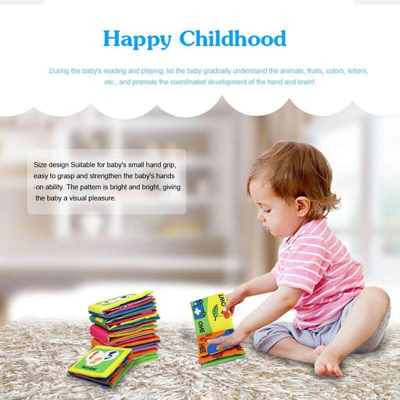 Newborn Animal Cloth Book Baby Childhood Puppy Cloth Book Educational Toy RD