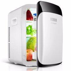 ซื้อ 15L Mini Fashion Refrigerator ตู้เย็นแฟชั่นมินิแบบพกพา 15 ลิตร ไฟบ้าน ไฟรถ ถูก