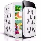 ซื้อ 15L Mini Fashion Refrigerator ตู้เย็นมินิแฟชั่น 15 ลิตร ไฟบ้าน ไฟรถ ลายวัว Shop108 ออนไลน์