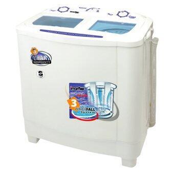 Imarflex เครื่องซักผ้า 2 ถัง รุ่น WM772 ขนาดความจุ 7.2 kg.(สีขาว)