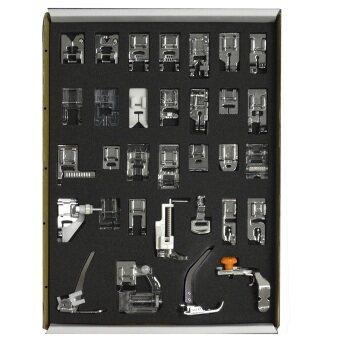 32ชิ้นลงขาจักรเย็บผ้าระบบก้านเซ็ตสตีลเซอร์วิสสินค้าจิปาถะในบ้านเครื่องมืออุปกรณ์ภายในบ้าน