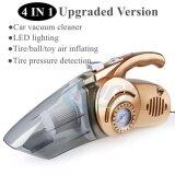 ขาย 4 In 1 เครื่องดูดฝุ่น Vacuum Cleaners With Floodlight ปั๊มลม ระดับความดัน ทอง No Brand ออนไลน์