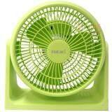 พัดลมตั้งโต๊ะทรงกลม 8 นิ้ว สีเขียว รุ่น Hatari Ht Ps20M1 Gr Green เป็นต้นฉบับ