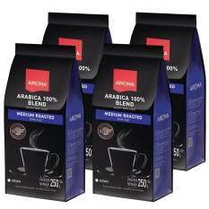 ขาย เมล็ดกาแฟคั่ว Arabica 100 Bean 4 ซอง 1กิโลกรัม ออนไลน์ ใน กรุงเทพมหานคร