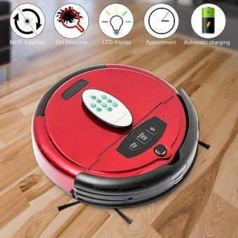 Automatic Rechargeable Smart Robot Vacuum Floor Microfiber Dry Wet Cleaner UK
