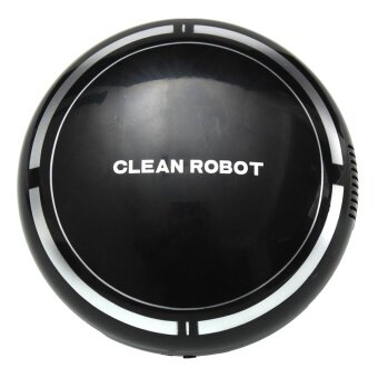 Automatic USB Rechargeable Smart Robot Vacuum Floor Cleaner Sweeping Suction Black - intl