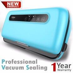 ขาย Automatic Vacuum Food Sealing เครื่องซีลถุงดูดสูญญากาศถนอมอาหารอัตโนมัติ Sky Blue ออนไลน์