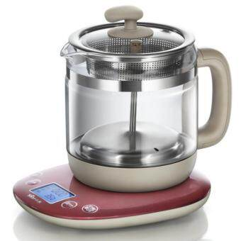 Bear YSH-A18D1 full automatic multi function thickening glass 1.5L intelligent health pot (Brown) - intl