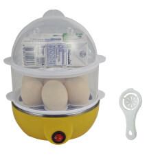 โปรโมชั่น Best Dmall เครื่องต้มไข่ หม้อนึ่งอเนกประสงค์ 2 ชั้น Yellow Egg White Separator Best