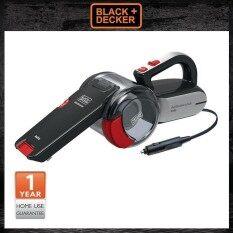 ราคา Black Decker 12V เครื่องดูดฝุ่นในรถยนต์ Auto Car Vac Pv1200Av B1 Black Decker