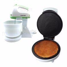 ขาย ซื้อ Casiko แพคคู่ เครื่องทำโคนไอศครีมและทองม้วน รุ่น Ck 5001 เครื่องผสมอาหาร Smart Home Mx 150