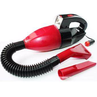 CocoCar Vacuum Cleaner เครื่องดูดฝุ่นดูดในรถยนต์ ไฟ 12V80W (Black/Red)
