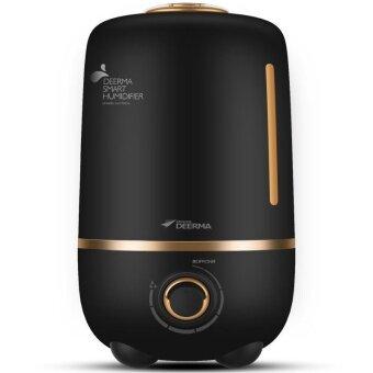 Deerma DEM-F450 4L Humidifier Home Mute Bedroom Oil Diffuser Mini Aromatherapy Machine Humidifier (Black) - intl