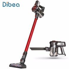 ขาย ซื้อ ออนไลน์ Dibea C17 Cordless 2 In 1 Lightweight Stick Handheld Vacuum Cleaner Rechargeable Sweeper With Charging Base Intl