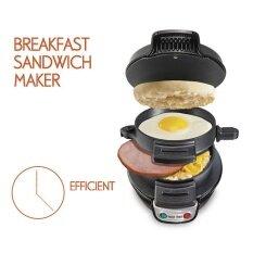 ขาย Dmall เครื่องทำแฮมเบอร์เกอร์ Hamburger Machineอาหารยามเช้า Black Best ถูก