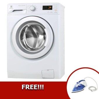 Electrolux เครื่องซักผ้าฝาหน้า ความจุ 8 กก. รุ่น EWF12853 ฟรี! แถมเตารีด ESI4005B (มูลค่า 790บาท)