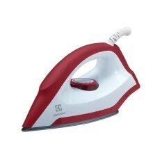 Electrolux เตารีดแห้ง รุ่น Edi1004 (สีขาว-แดง).