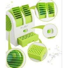 ราคา Fan Mini พัดลมไอน้ำพกพา สีเขียว ออนไลน์