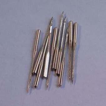 FD Premium เข็มจักรเย็บผ้า (HA เบอร์ 14/90  10 ชิ้น) NO:14/90 10Pcs, Silver Needles Kit Set รุ่น HLM120 (สี เงิน)