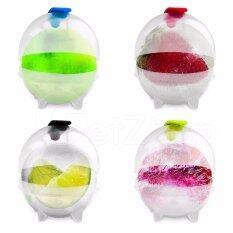 ขาย Getzhop แม่พิมพ์ทำน้ำแข็ง Party Bar Plastic Cute Ice ทรงลูกบอล แบบใส แพคละ 4 ชิ้น ราคาถูกที่สุด