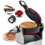 ราคา Getzhop เครื่องทำวาฟเฟิล Waffle Maker แกนหมุน 2 ชั้น 1 500 Watt Eupa รุ่น Tsk 2909Bw Red Getzhop ไทย
