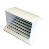 ซื้อ Gflow Canopy ท่อ 6 มีเกร็ด สีขาว หน้ากากท่อระบายอากาศฝาครอบโค้ง ออนไลน์ กรุงเทพมหานคร