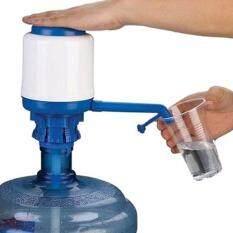 GINPAO - ที่ปั๊มน้ำดื่มแบบมือกด Drinking Water Pump (Blue)